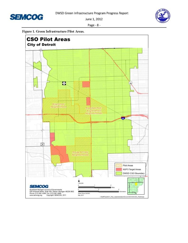 Green Infrastructure Pilot Areas