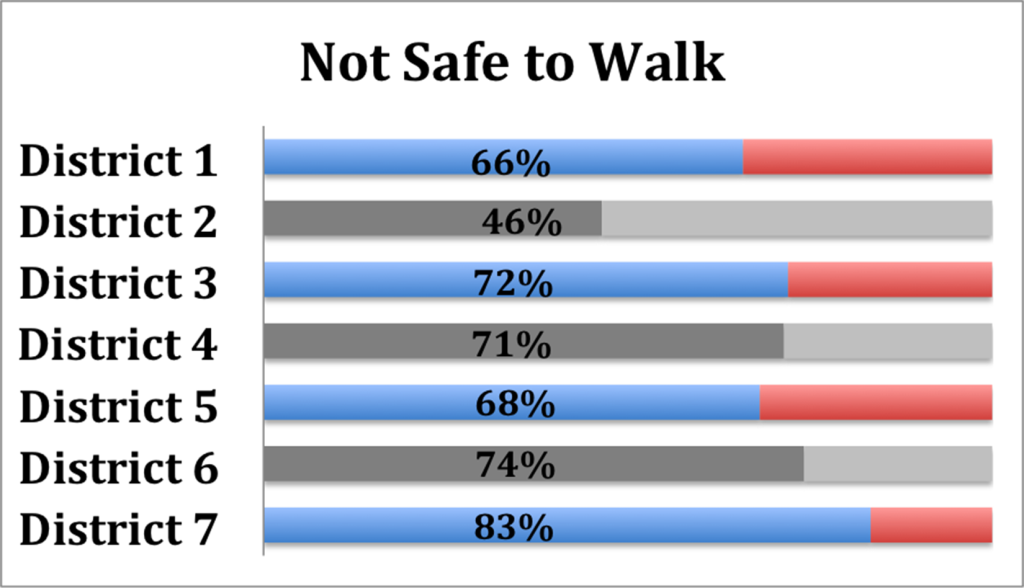 Not Safe to Walk Survey Highlights