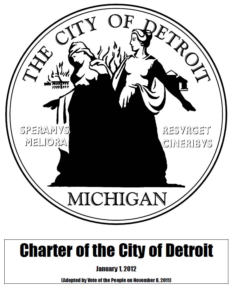 city charter cover